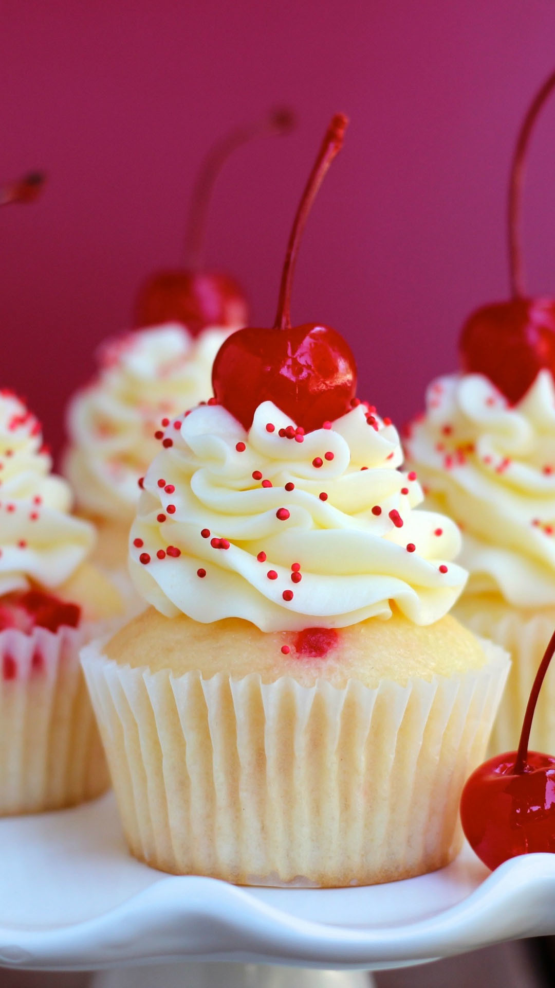 Pink Girly Wallpaper Iphone Cute Cupcake Background 183 ①