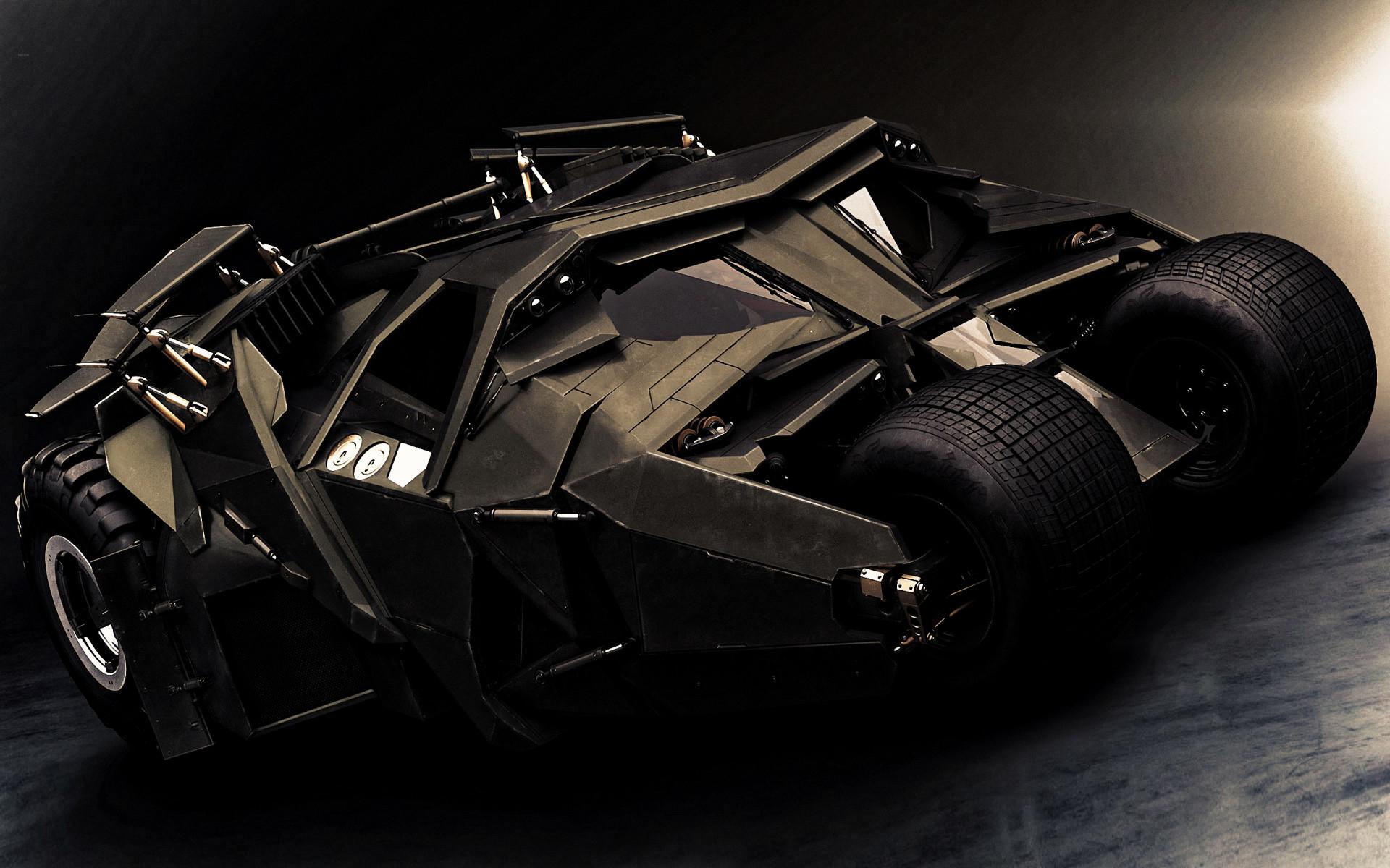 Batman The Dark Knight Car Wallpaper Batmobile Tumbler Wallpaper 183 ①