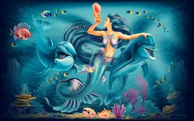 Mermaid Scales Wallpapers ·① WallpaperTag