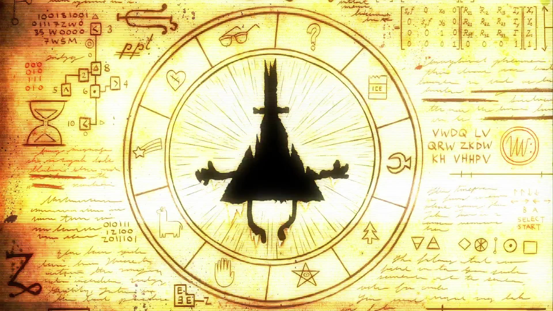 Gravity Falls Wallpaper 4k Bill Cipher Wallpaper 183 ① Download Free Awesome Full Hd
