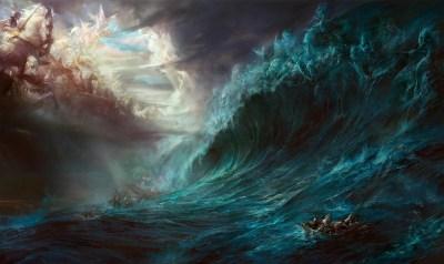 Heaven vs Hell Wallpaper ·①