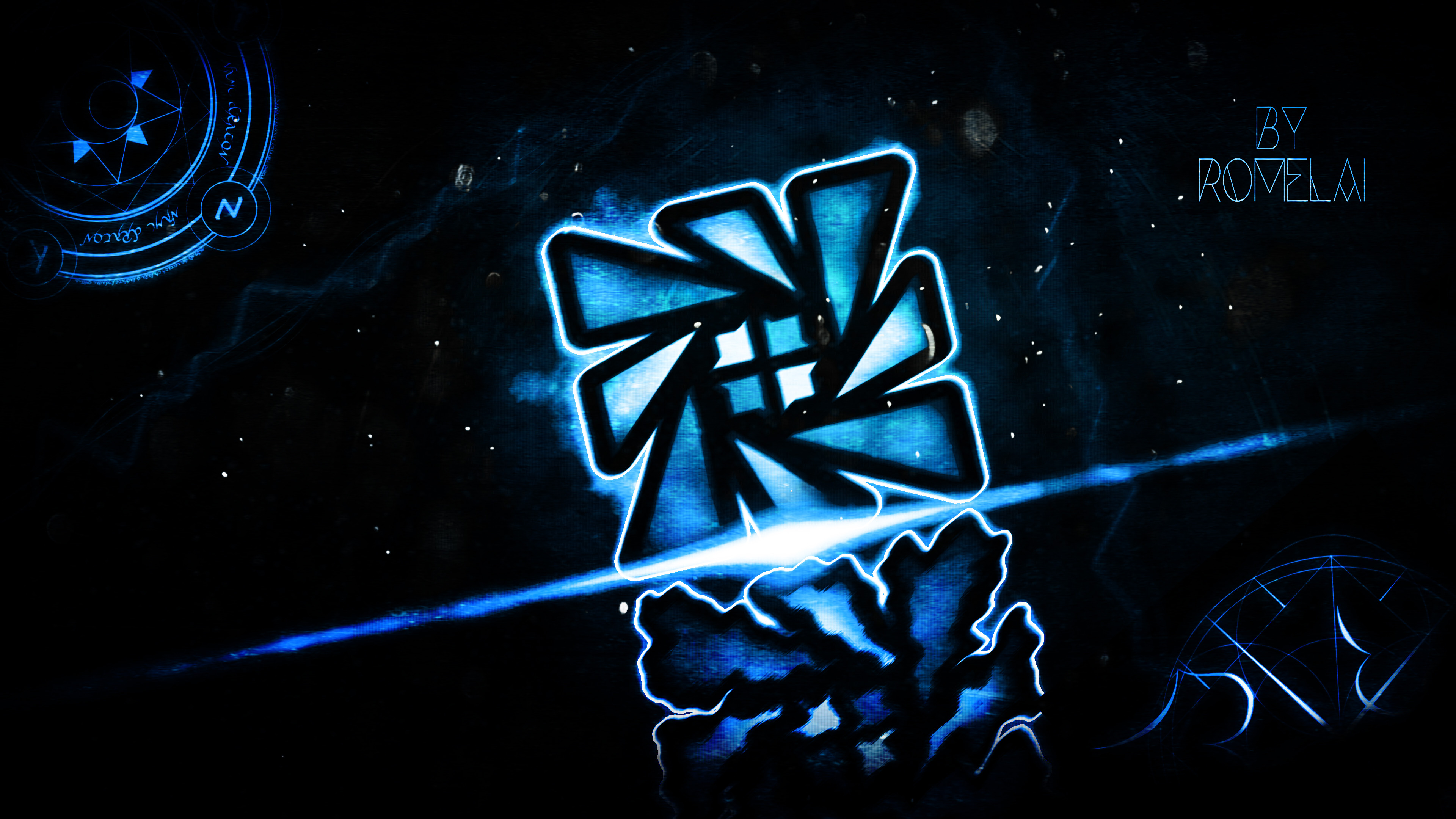 I Letter 3d Wallpapers Geometry Dash Wallpapers 183 ①