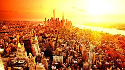 New York Skyline Wallpaper ·①