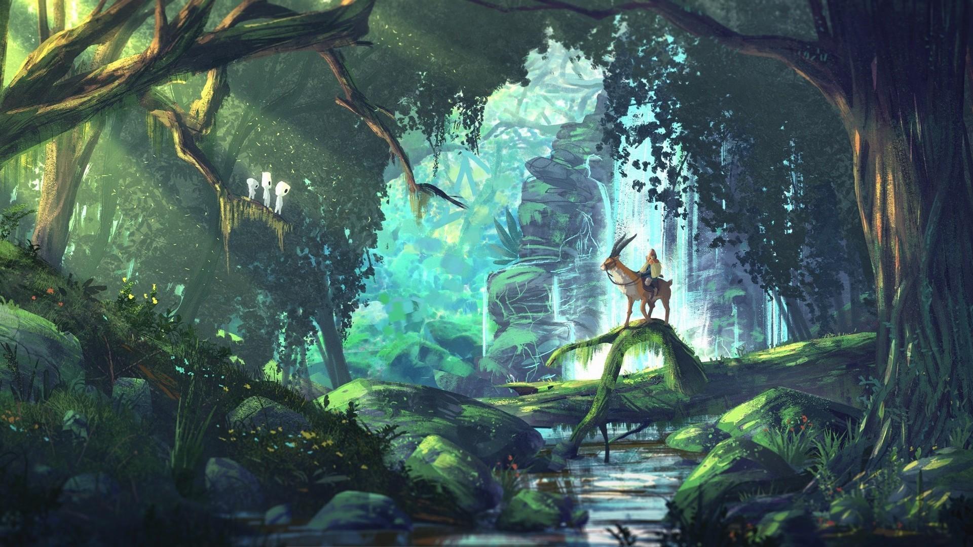 Forest Iphone Wallpaper Studio Ghibli Wallpaper 183 ① Download Free Stunning Hd