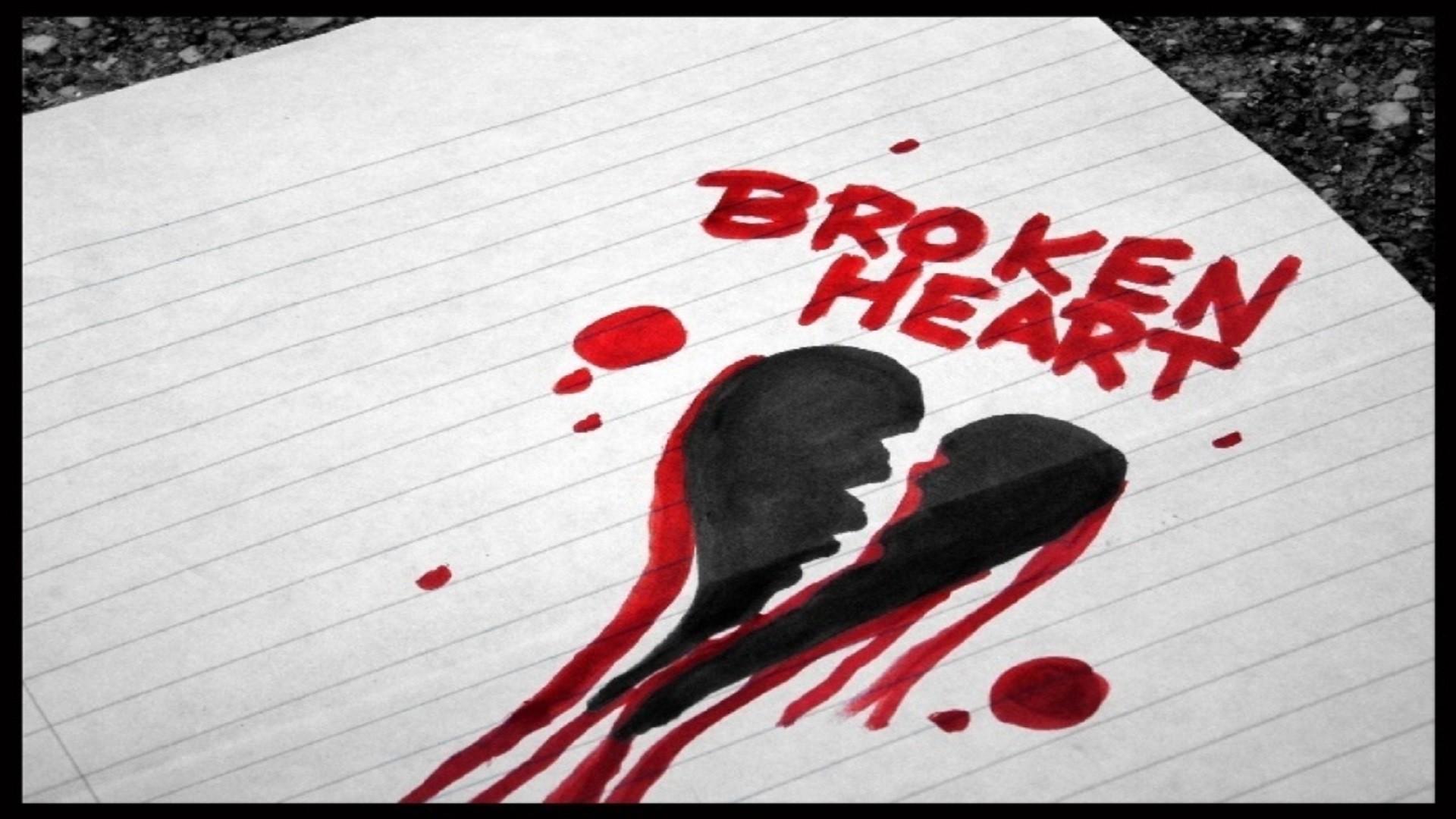 Broken Heart Quotes Wallpapers For Mobile Broken Heart Wallpapers 183 ①