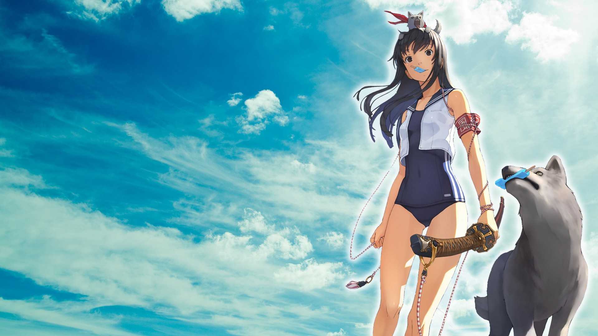Ice Wolf 3d Wallpaper Download Anime Wolf Wallpaper 183 ①