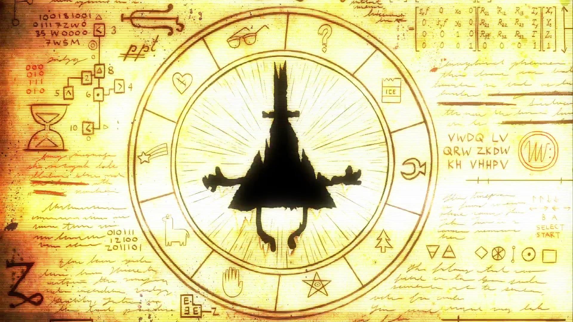Gravity Falls Hd Wallpaper Bill Cipher Wallpapers 183 ①