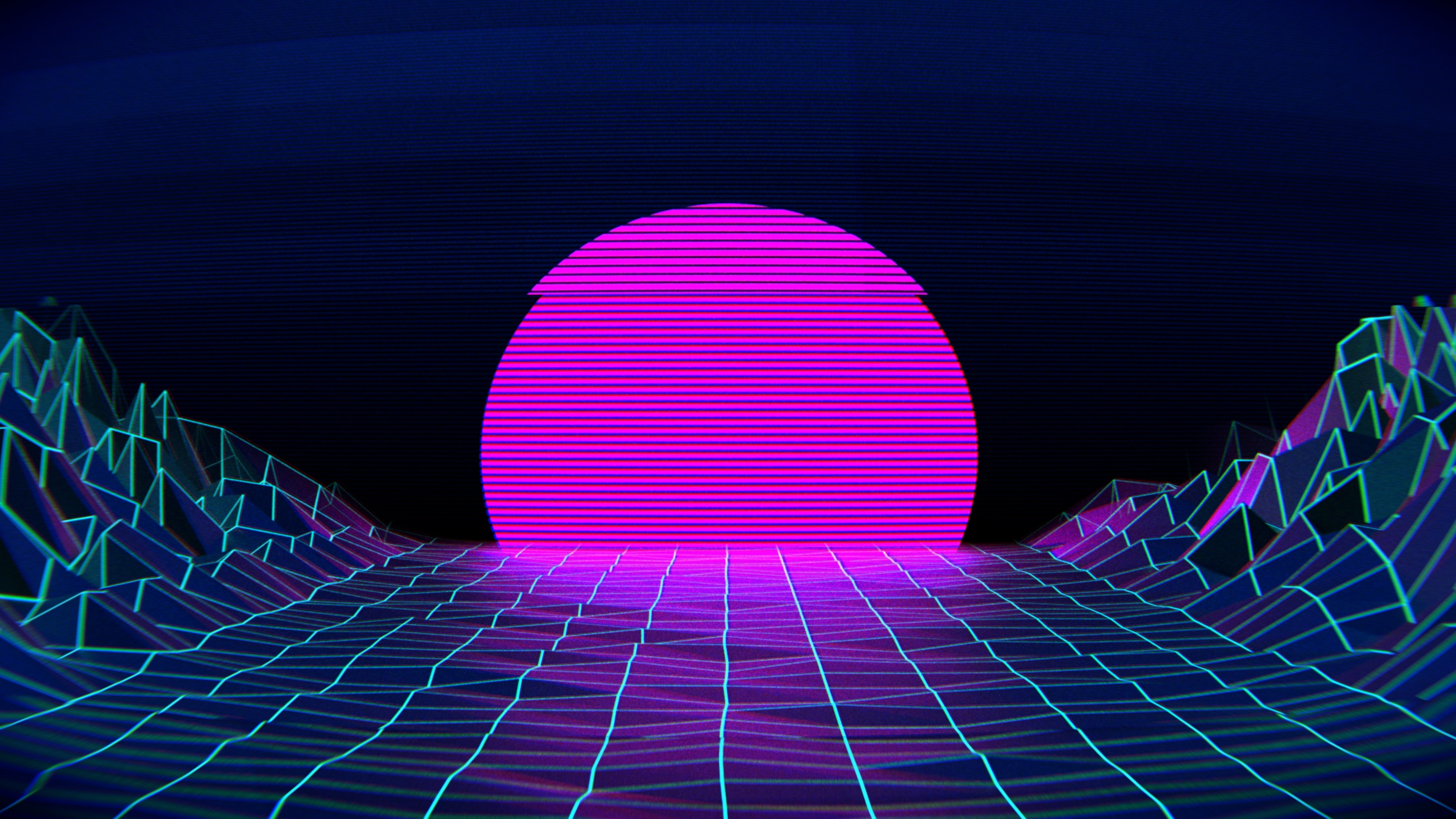 3d Hd Live Wallpaper For Android Phone Vaporwave Wallpapers 183 ①