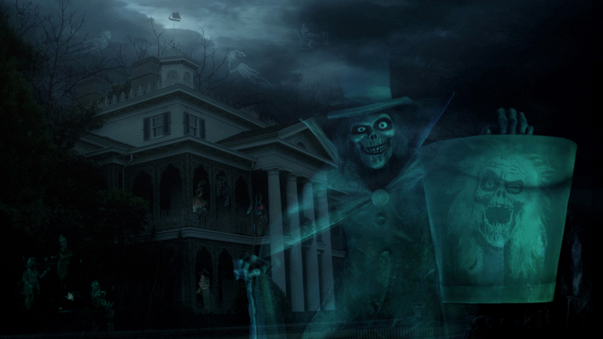 Creeper Wallpaper Hd Haunted House Wallpaper Desktop 183 ①