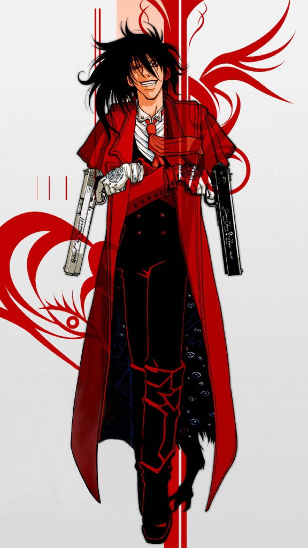 Sick Iphone Wallpapers Hd Hellsing Alucard Wallpaper 183 ①