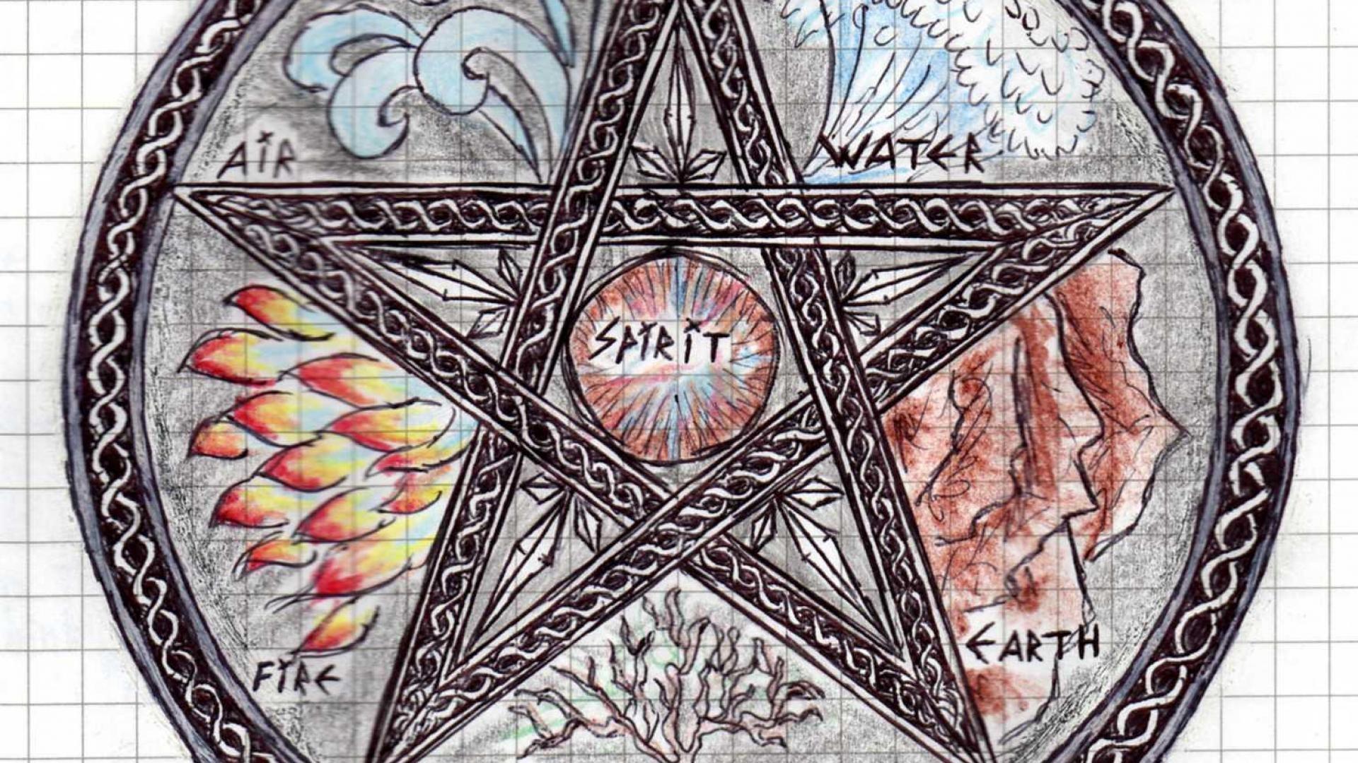 Satanic Iphone Wallpaper Pentagram Wallpapers 183 ①