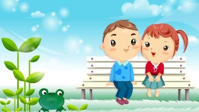 Cute Cartoon Wallpaper ·①