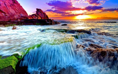 Beautiful Ocean Wallpaper ·①