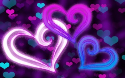 Purple Hearts Wallpaper ·① WallpaperTag