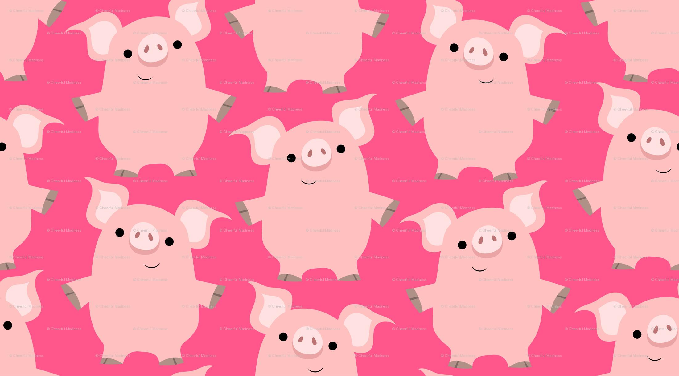 Cute Piggies Wallpaper Piggy Wallpaper 183 ①