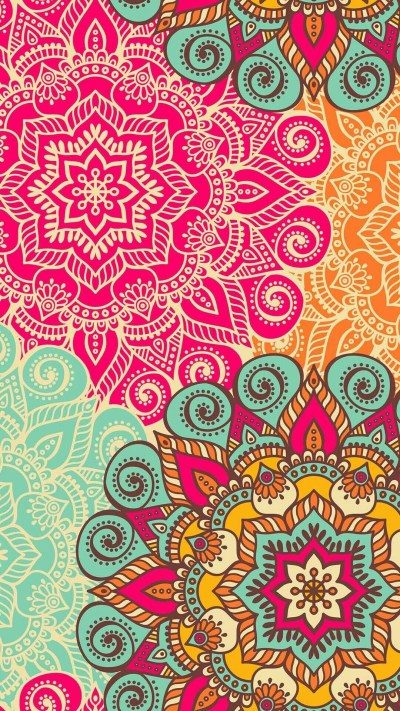 Bohemian Backgrounds ·①