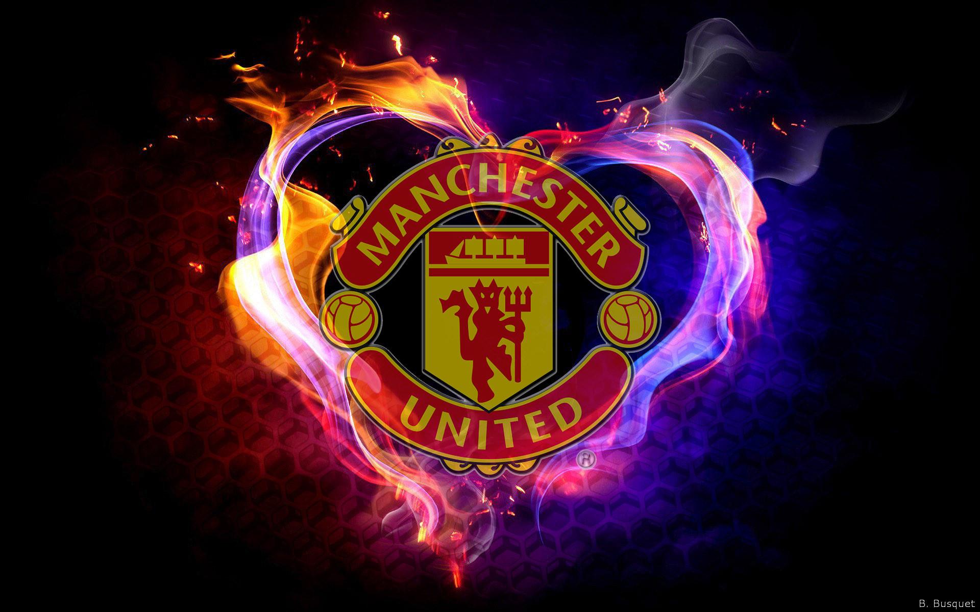 Manchester United Logo Wallpaper 3d Manchester United Logo Wallpaper Hd 183 ①