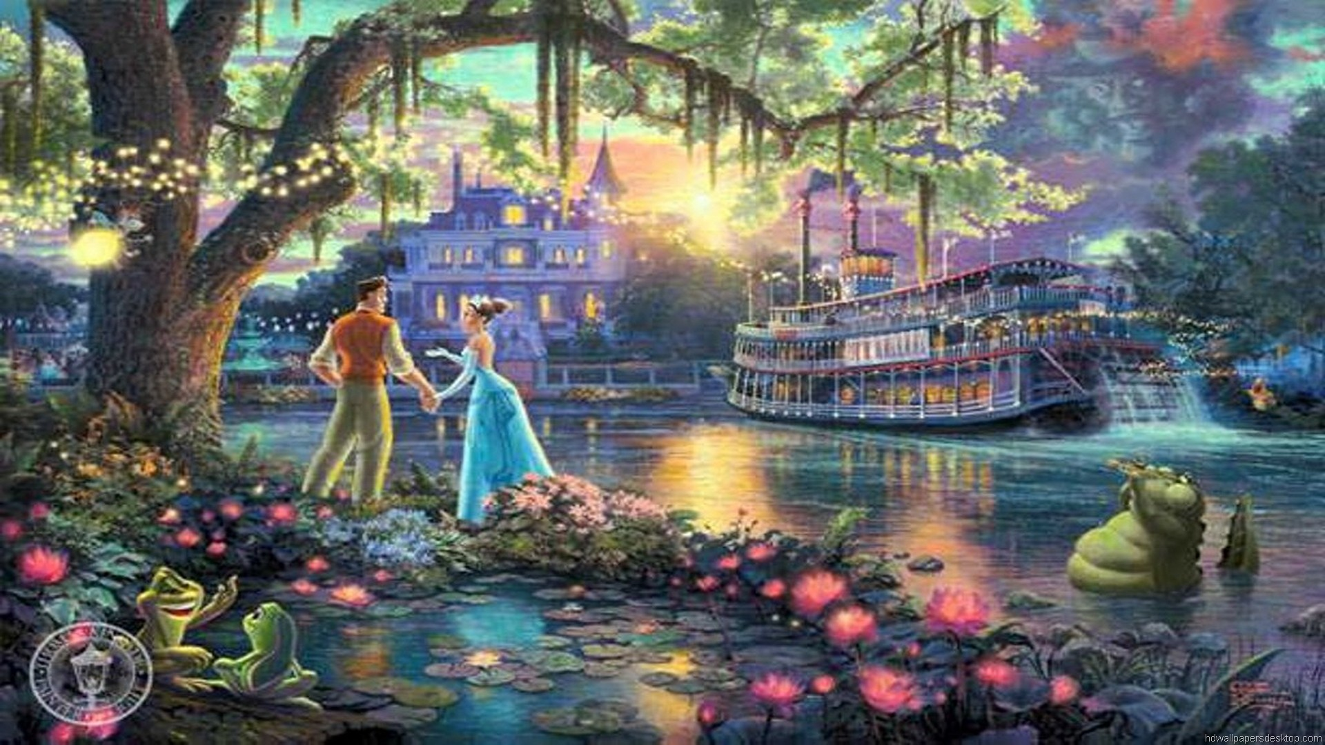Thomas Kinkade Fall Wallpaper Thomas Kinkade Disney Wallpaper 183 ① Wallpapertag