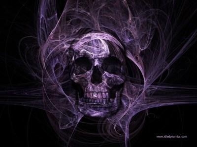 3D Skull Wallpaper ·①
