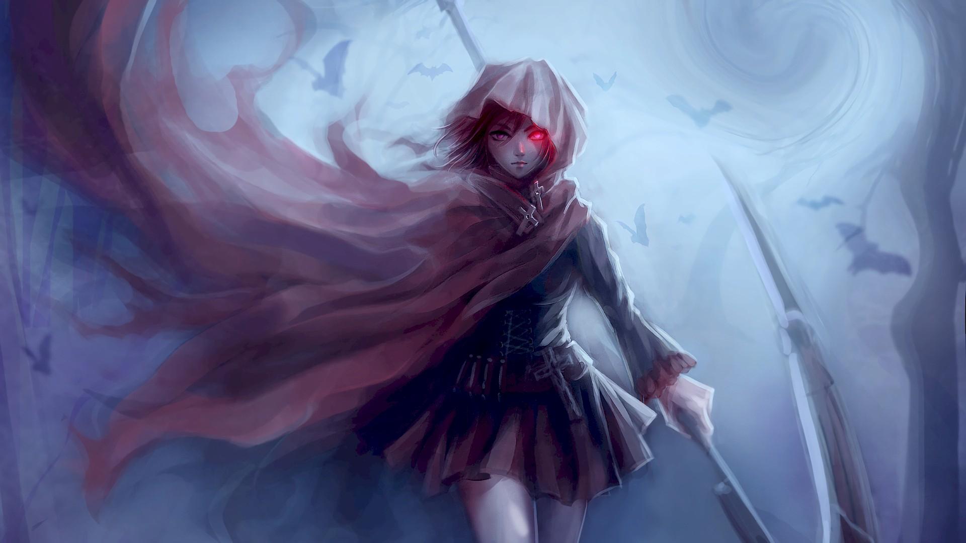 Cute Anime Alone Wallpaper Ruby Rose Rwby Wallpaper 183 ① Download Free Beautiful