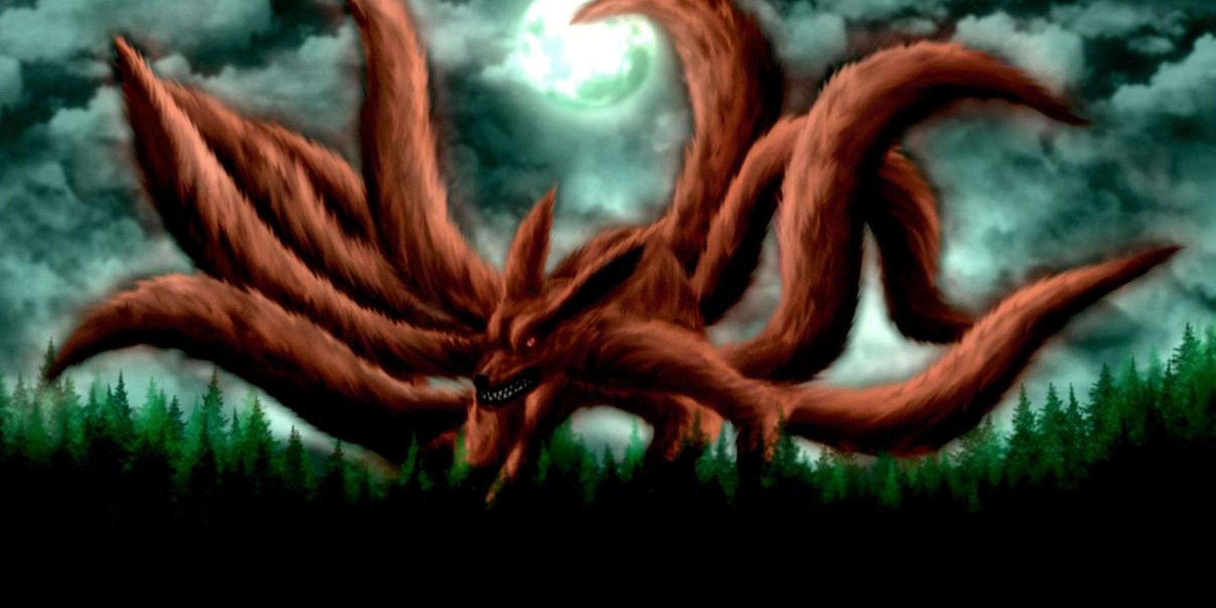 Wallpaper Smartphone Anime Naruto Nine Tailed Fox Wallpaper 183 ①
