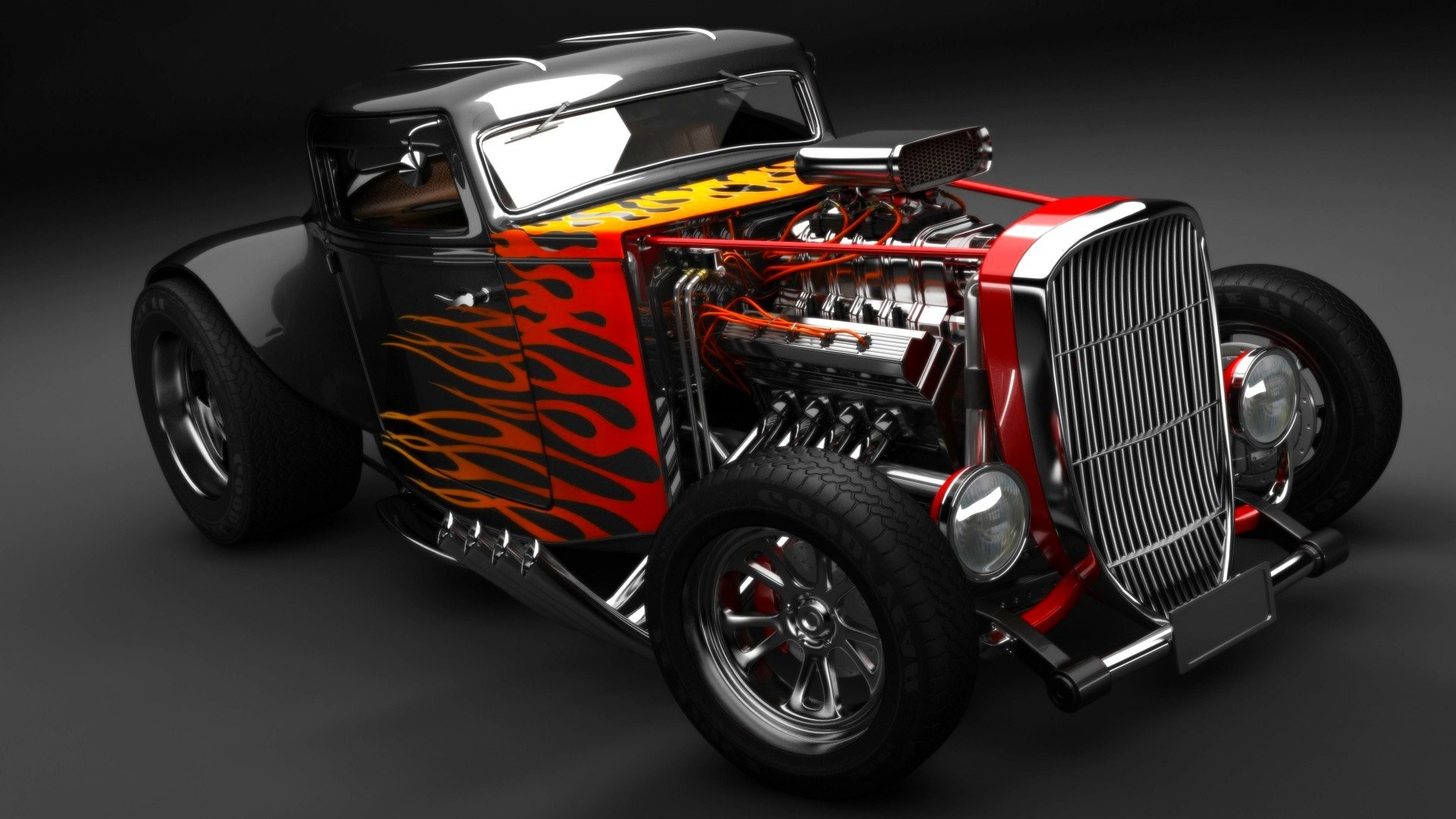 High Resolution Muscle Car Wallpapers Hot Rod Wallpapers 183 ①