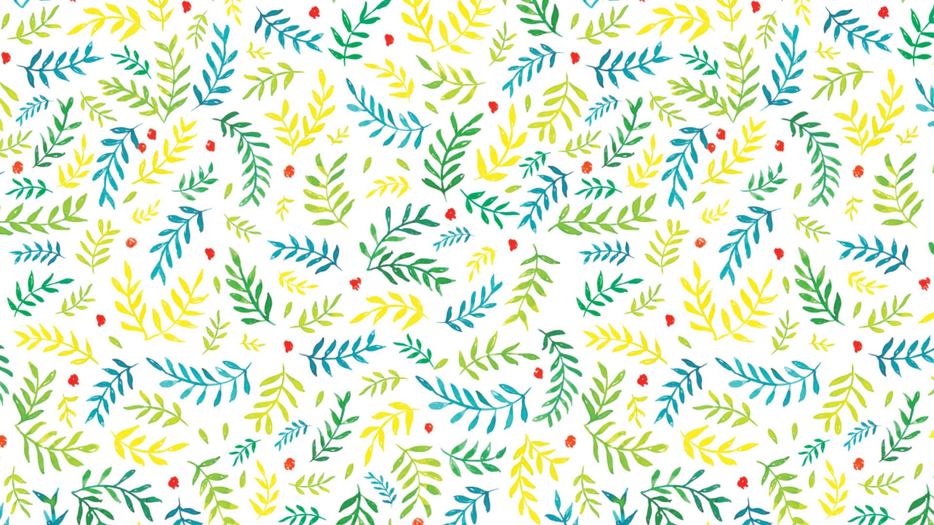 Fall Leaves Wallpaper Macbook Desktop Wallpaper Patterns 183 ①