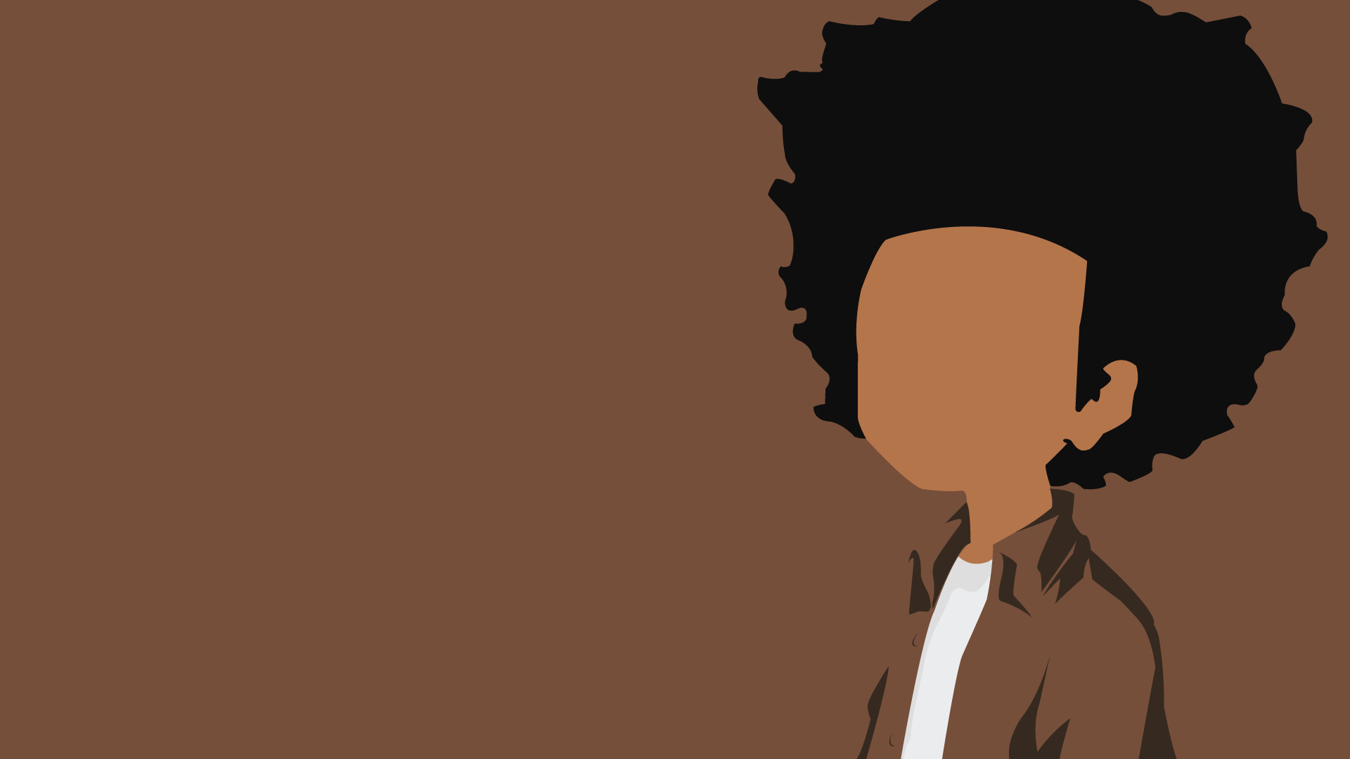 Only Hd Wallpapers Girl The Boondocks Iphone Wallpaper 183 ①