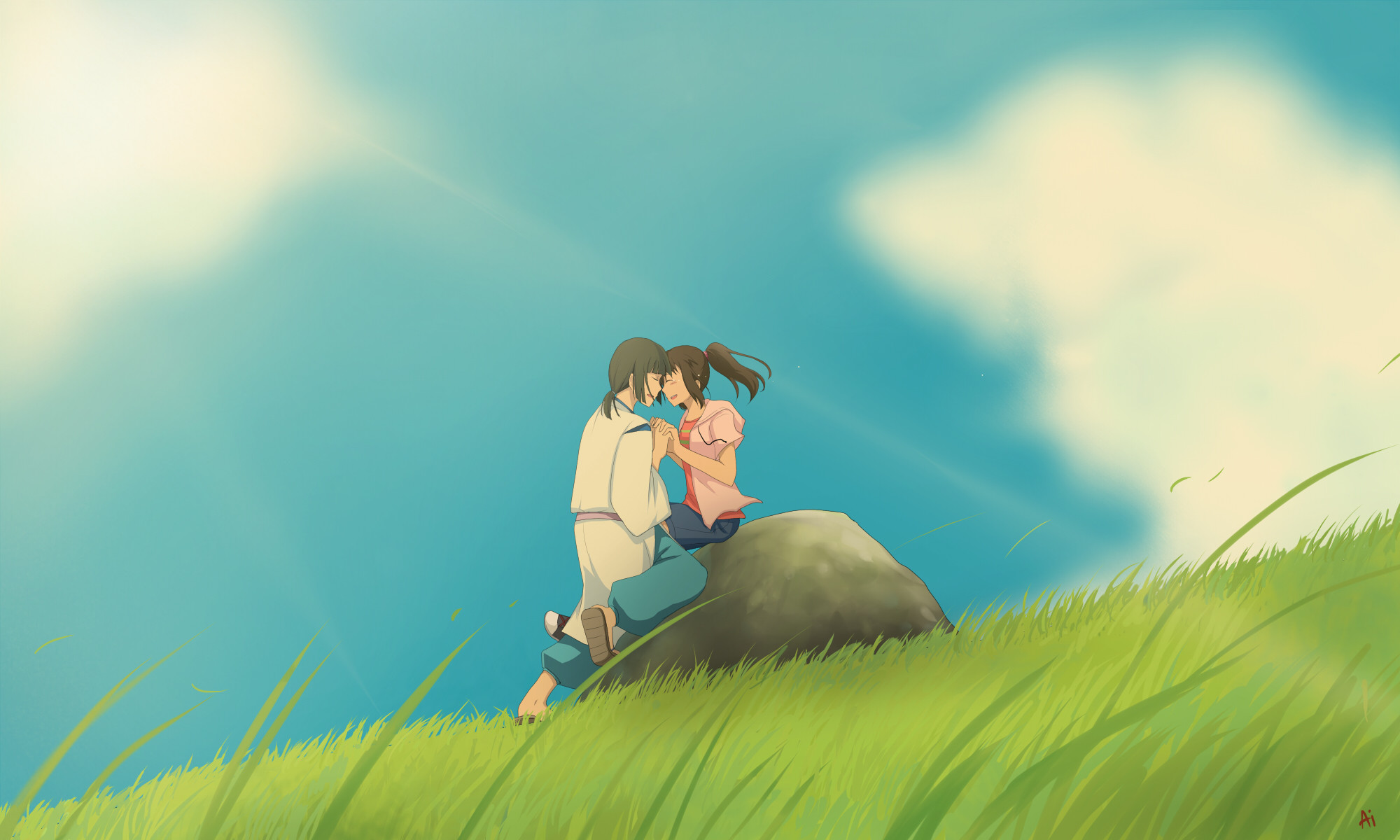 Howls Moving Castle Hd Wallpaper Chihiro Wallpapers 183 ①