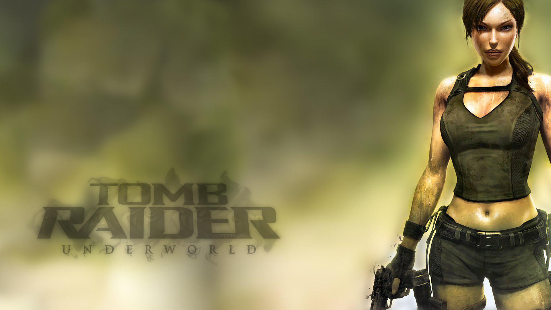 Raiders Wallpaper 3d Lara Croft Underworld Wallpaper 183 ①