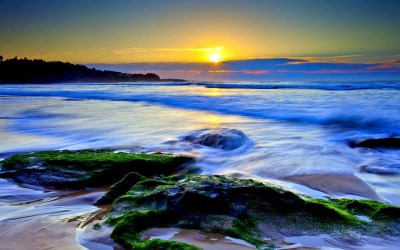 Beautiful Ocean Wallpaper ·①