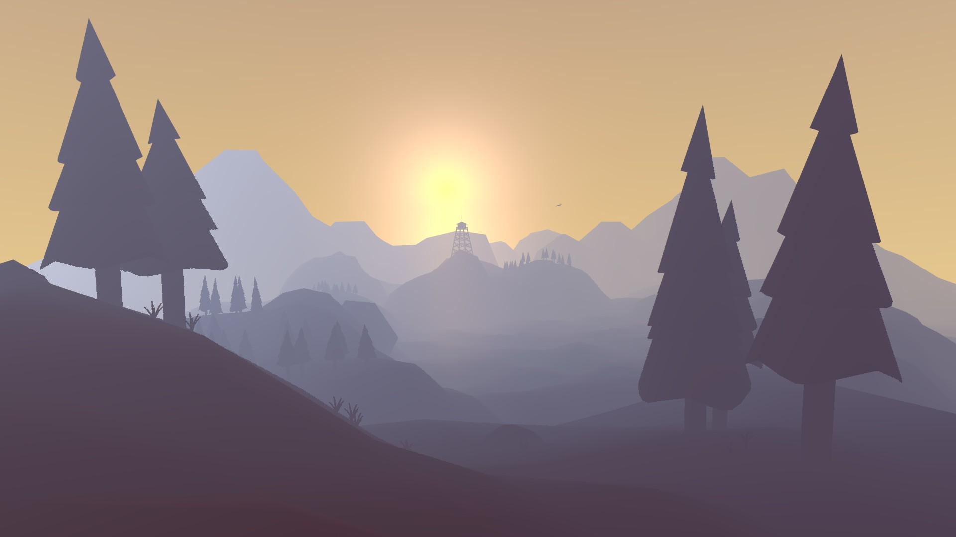 Low Poly Iphone X Wallpaper 38 Firewatch Wallpapers 183 ① Download Free Beautiful High