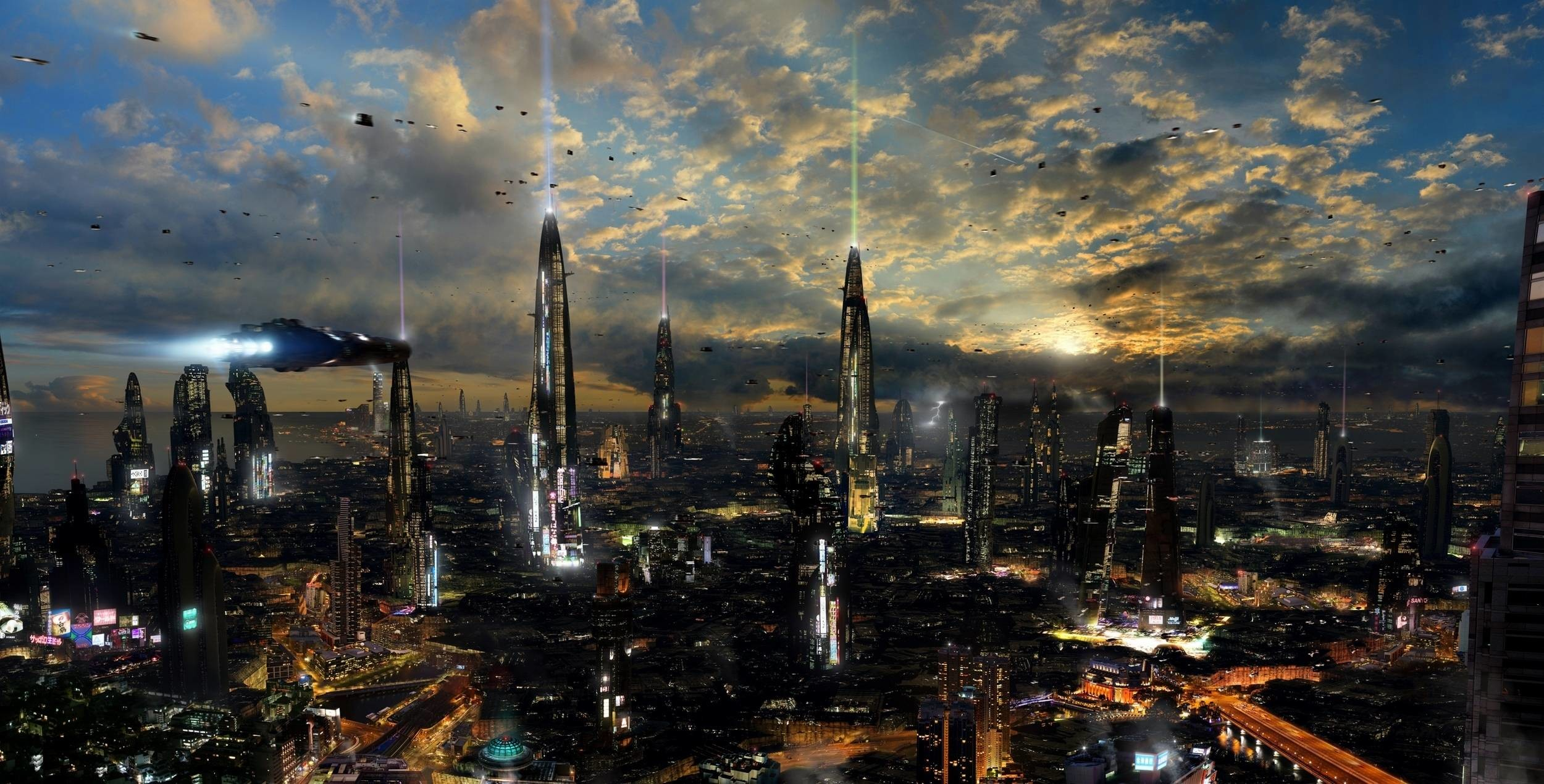 3d Wallpaper Mobile9 Download Future City Wallpapers 183 ①