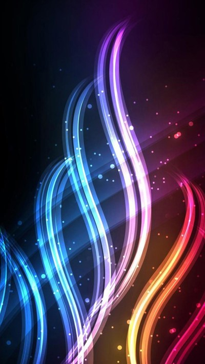 Cute Neon Backgrounds ·①