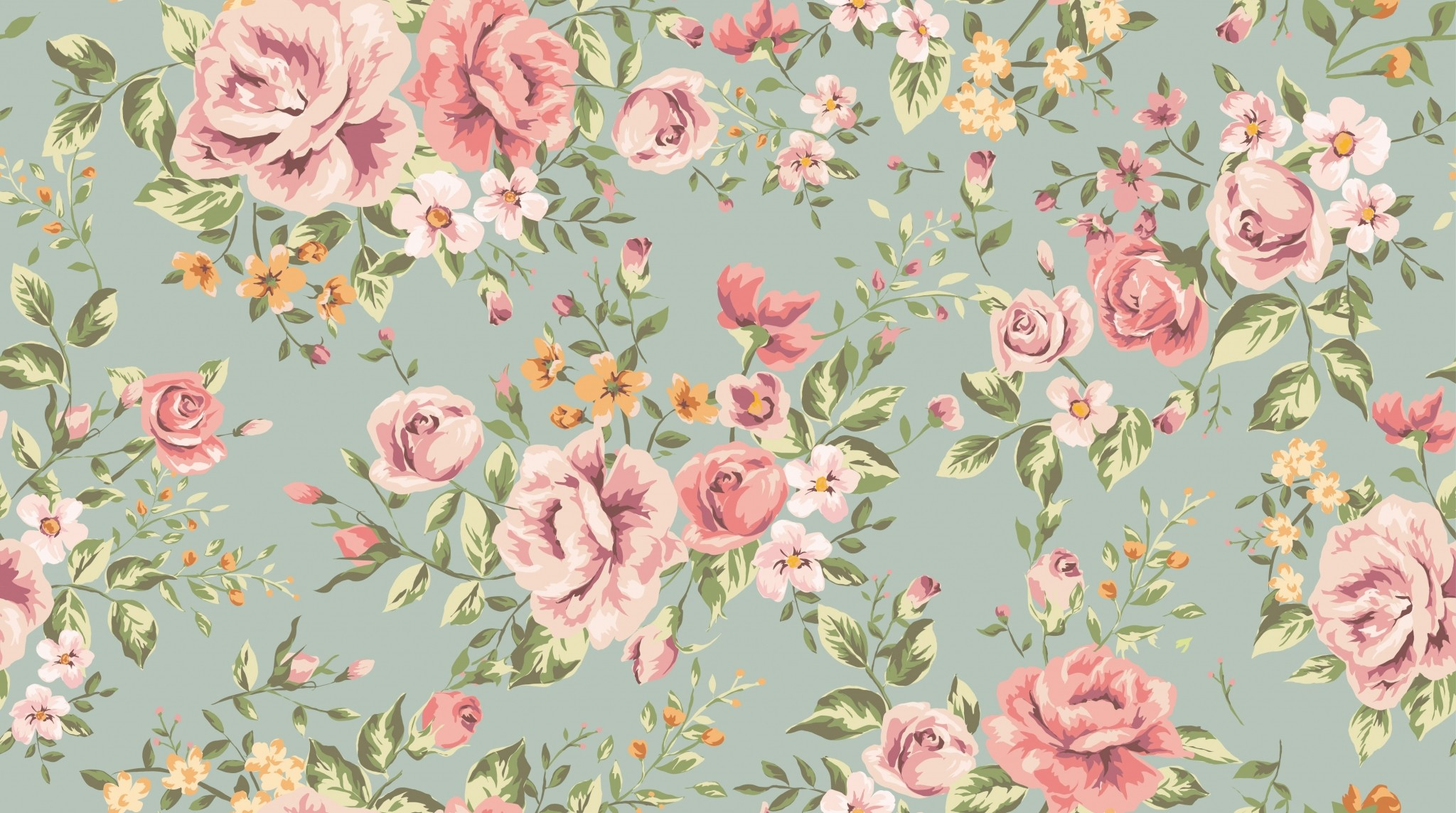 Vintage Floral Background 1 Download Free Cool Full Hd