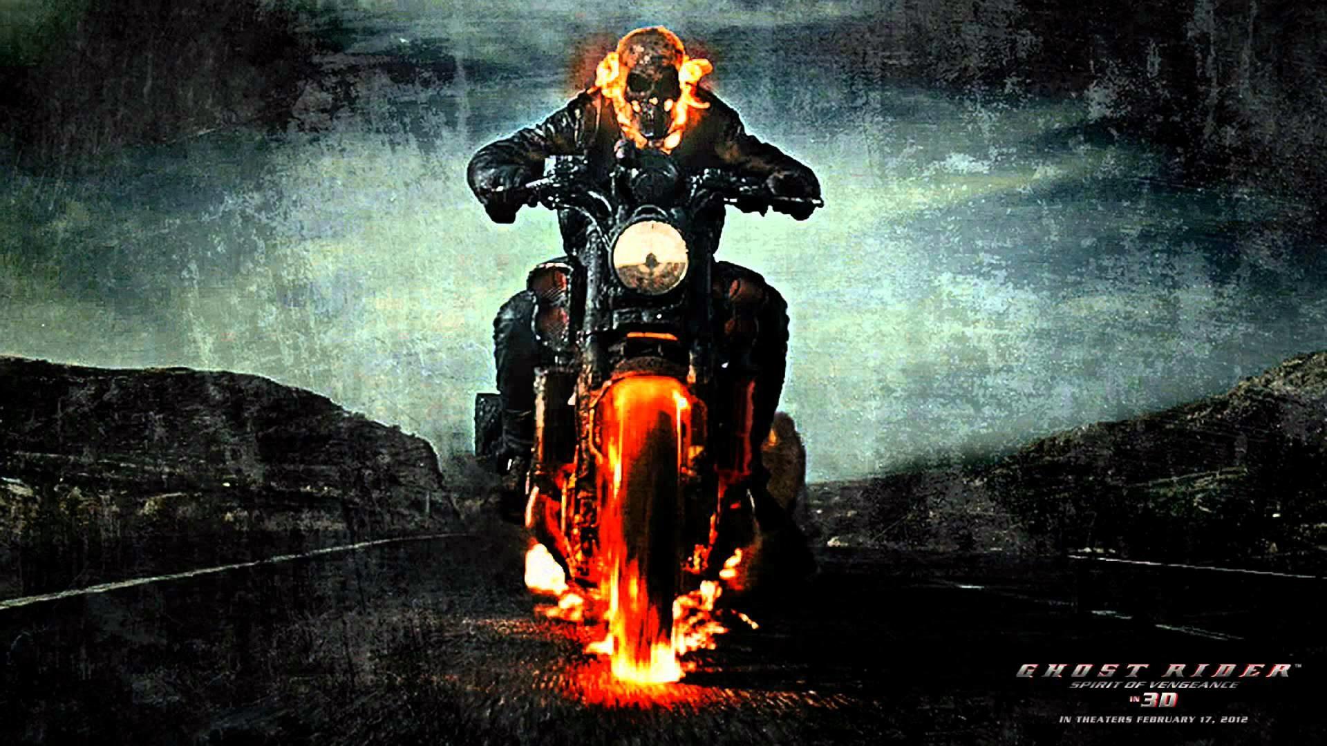Wallpaper Superhero Marvel 3d Ghost Rider 2 Wallpaper 183 ①