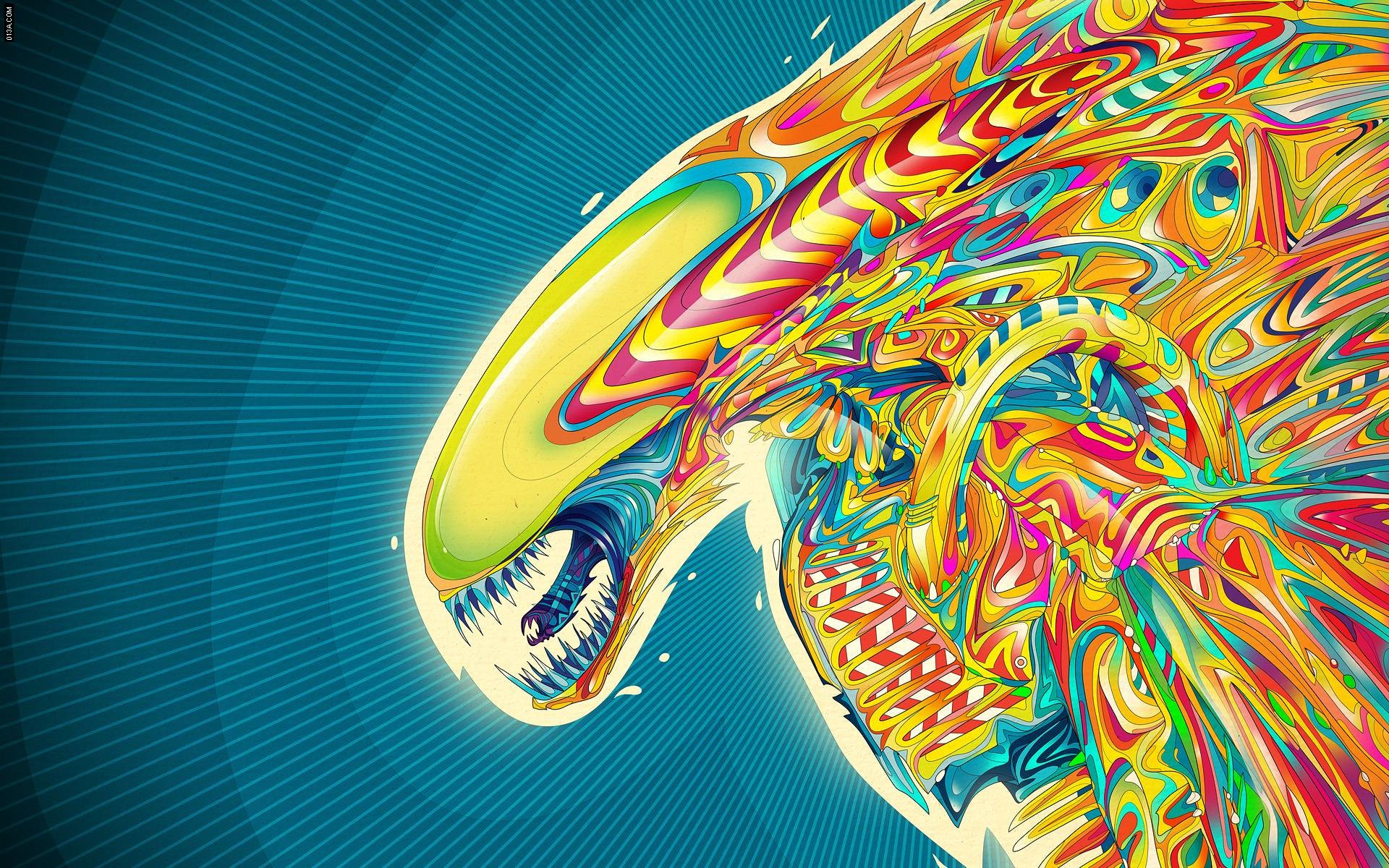 Colorful Skull Iphone Wallpaper Trippy Wallpaper Hd 183 ①