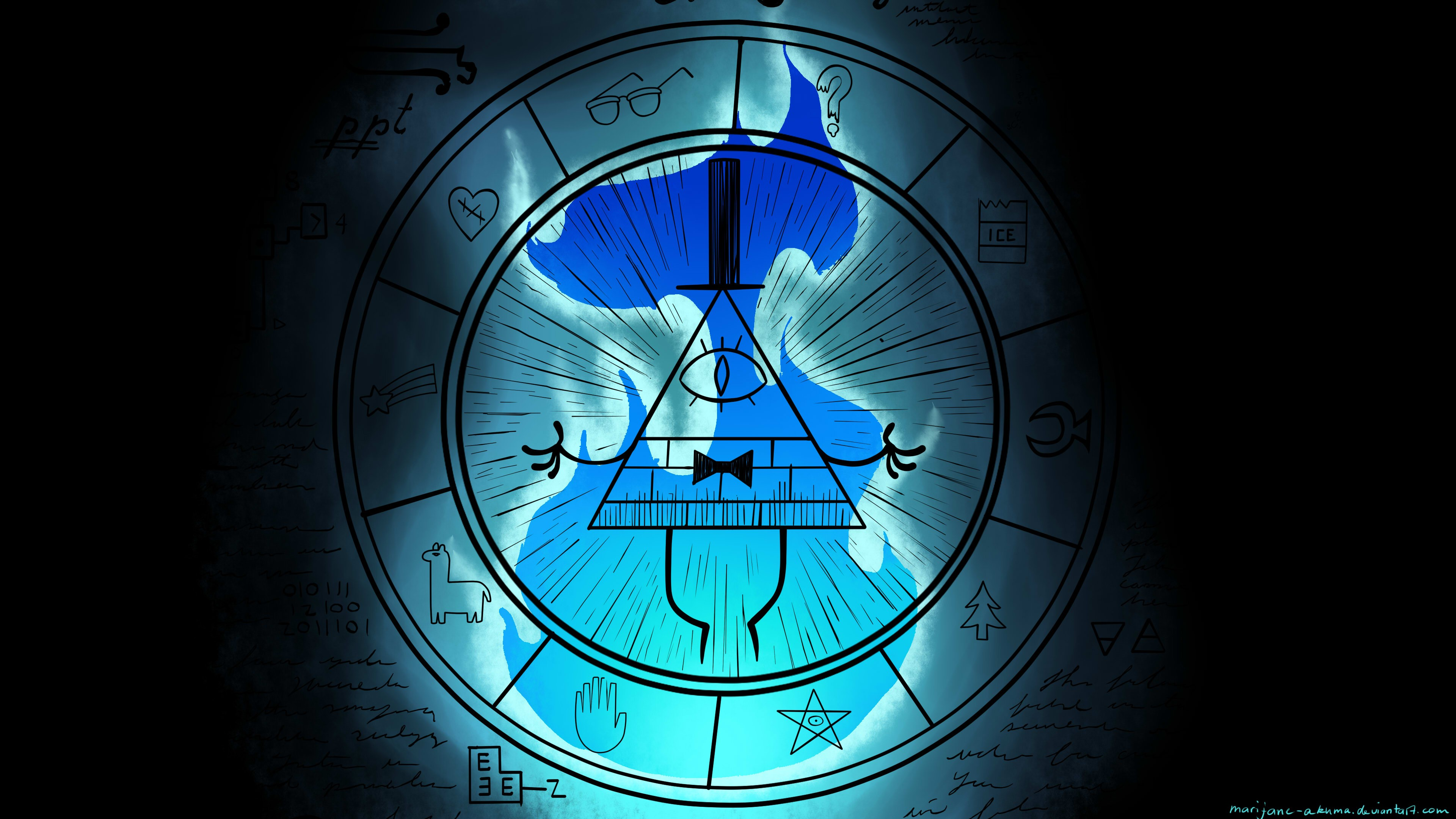 Doctor Symbol Hd Wallpaper Bill Cipher Wallpaper 183 ① Download Free Awesome Full Hd
