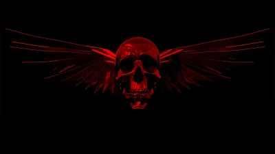 Red Skull Wallpaper ·①