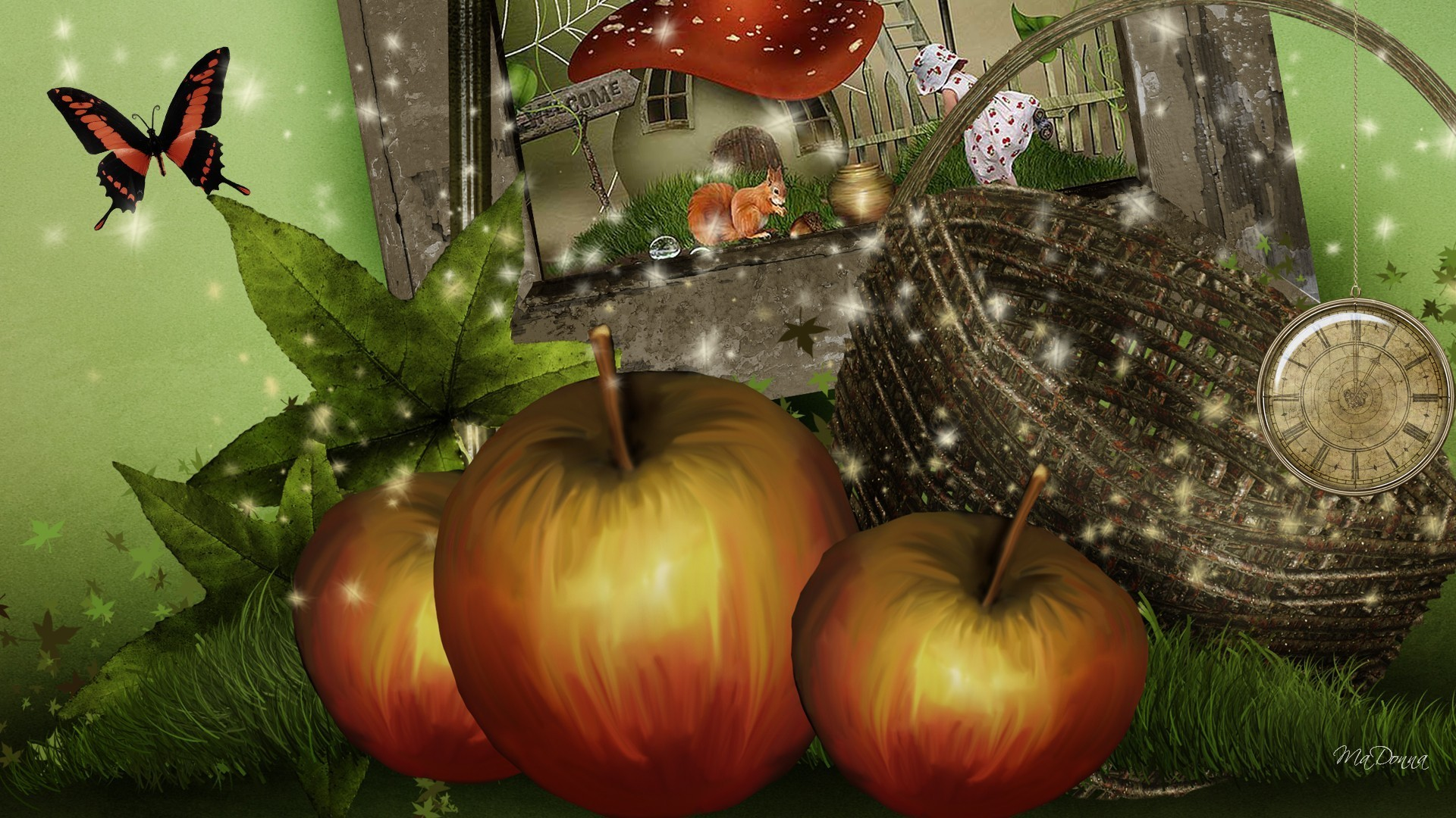 Fall Leaves Iphone 7 Wallpaper Pumpkin Desktop Wallpaper 183 ①