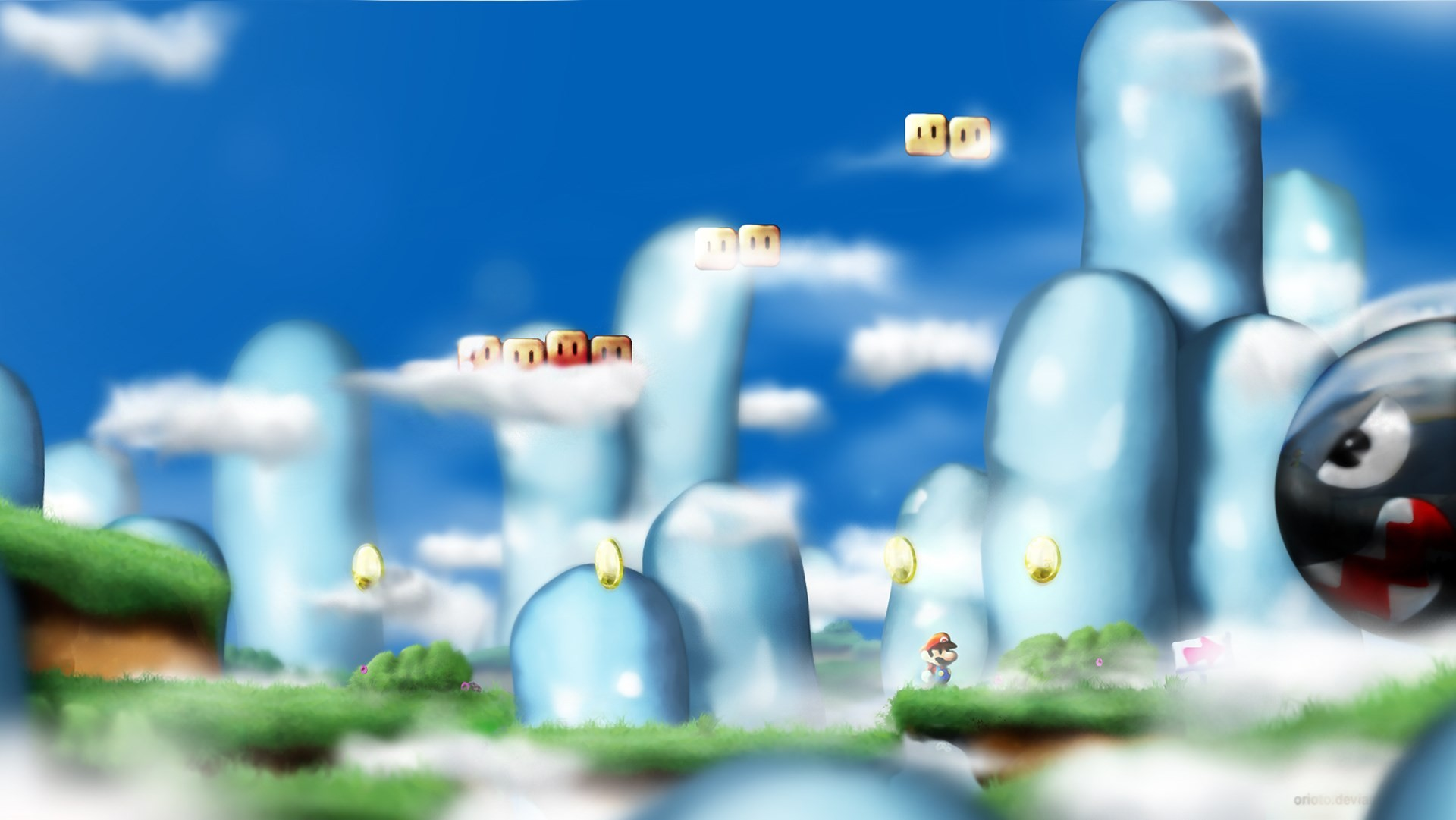 Ghost House Wallpaper Hd 3d Super Mario World Background 183 ① Download Free Beautiful
