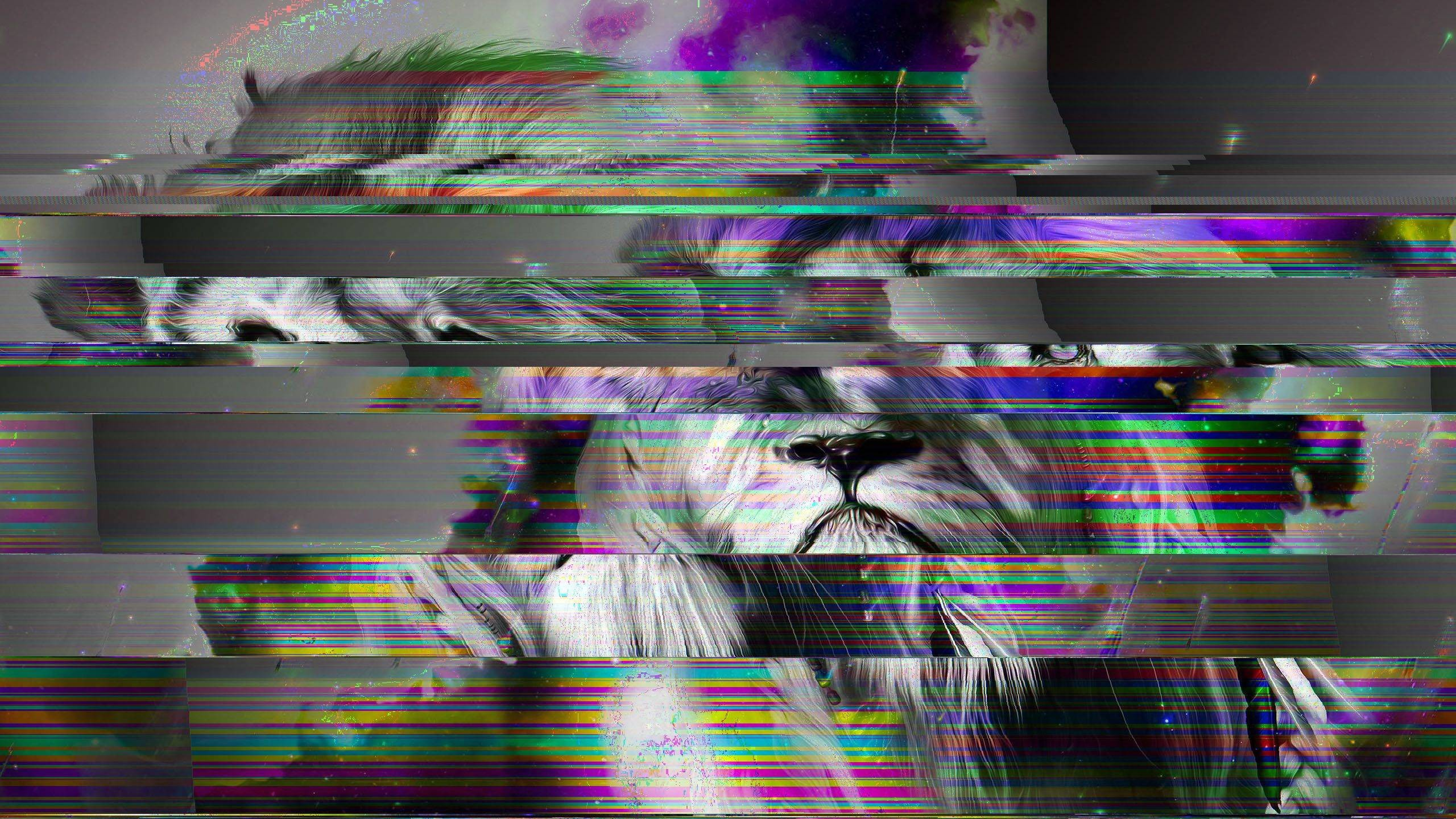Lion Live Wallpaper Iphone X Glitch Wallpapers 183 ①