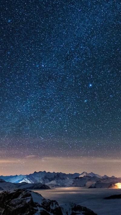 Starry Sky Background ·①
