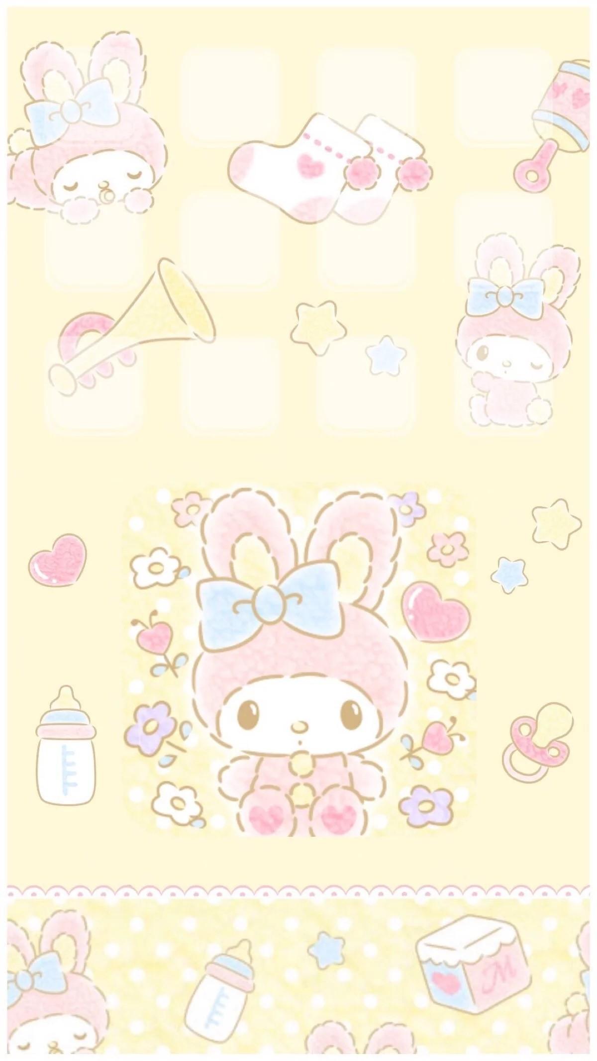 Cute Sanrio Wallpapers My Melody Wallpaper 183 ①