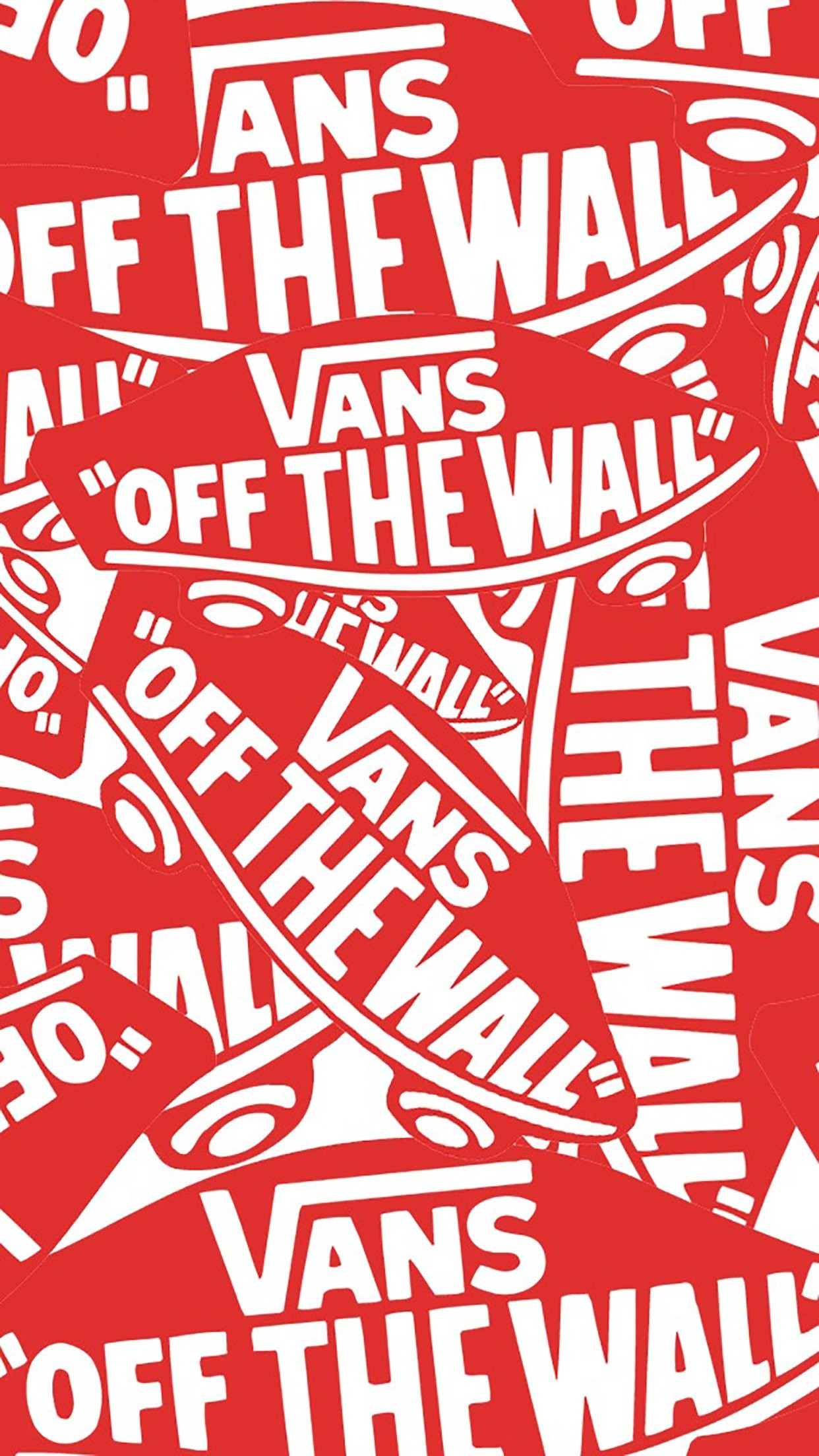 Wallpaper Off White Iphone X Vans Off The Wall Wallpaper 183 ①