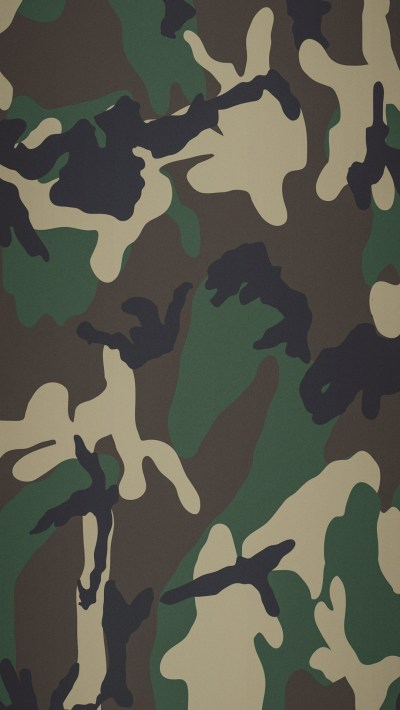 Woodland Camo Wallpaper ·①