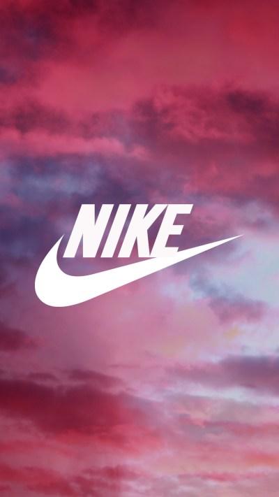 Pink Nike Wallpaper ·①