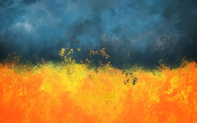 Abstract Painting Wallpaper ·①