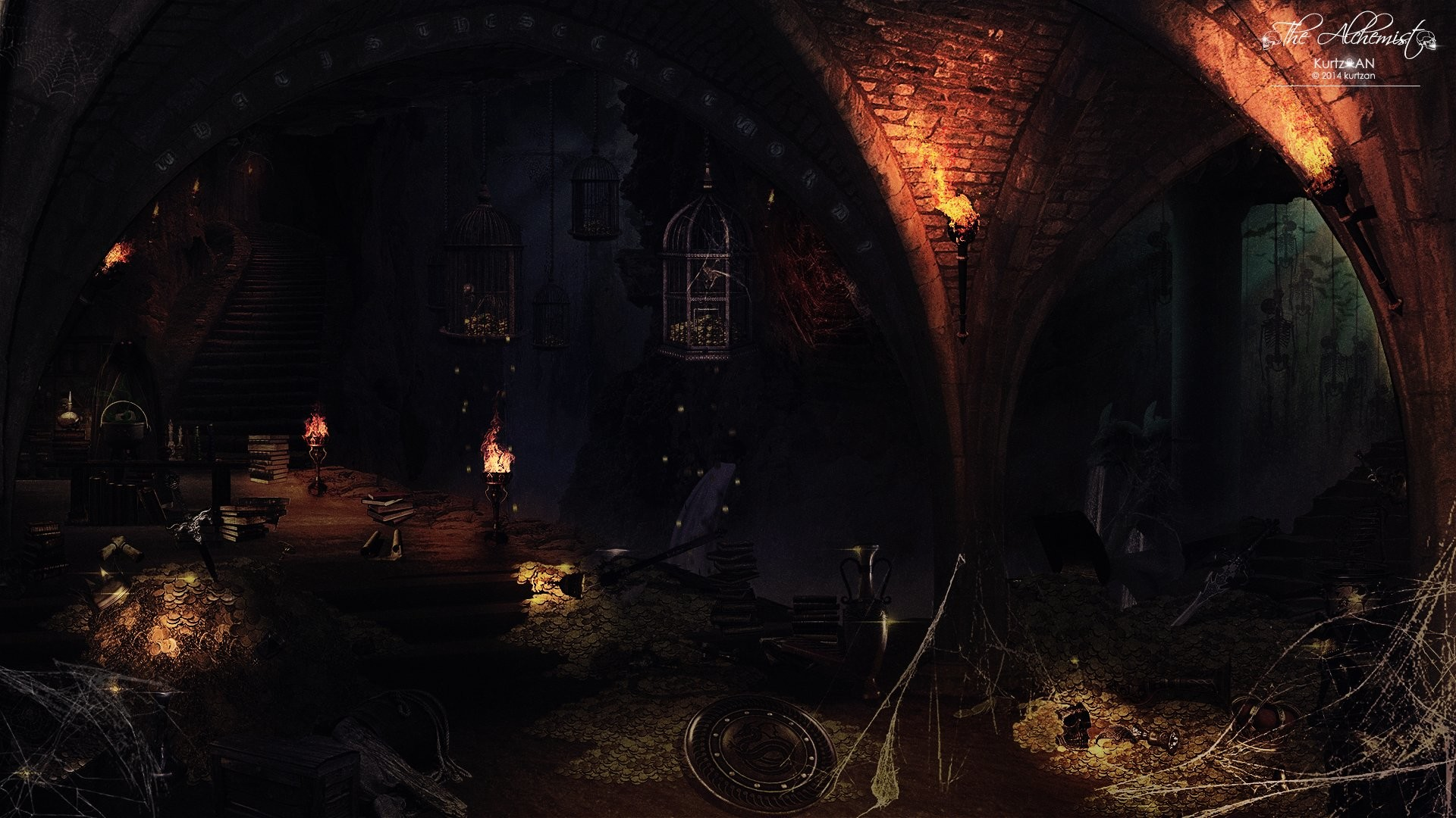3d Wallpaper For Pc Windows 7 Free Download Alchemy Gothic Wallpaper 183 ①