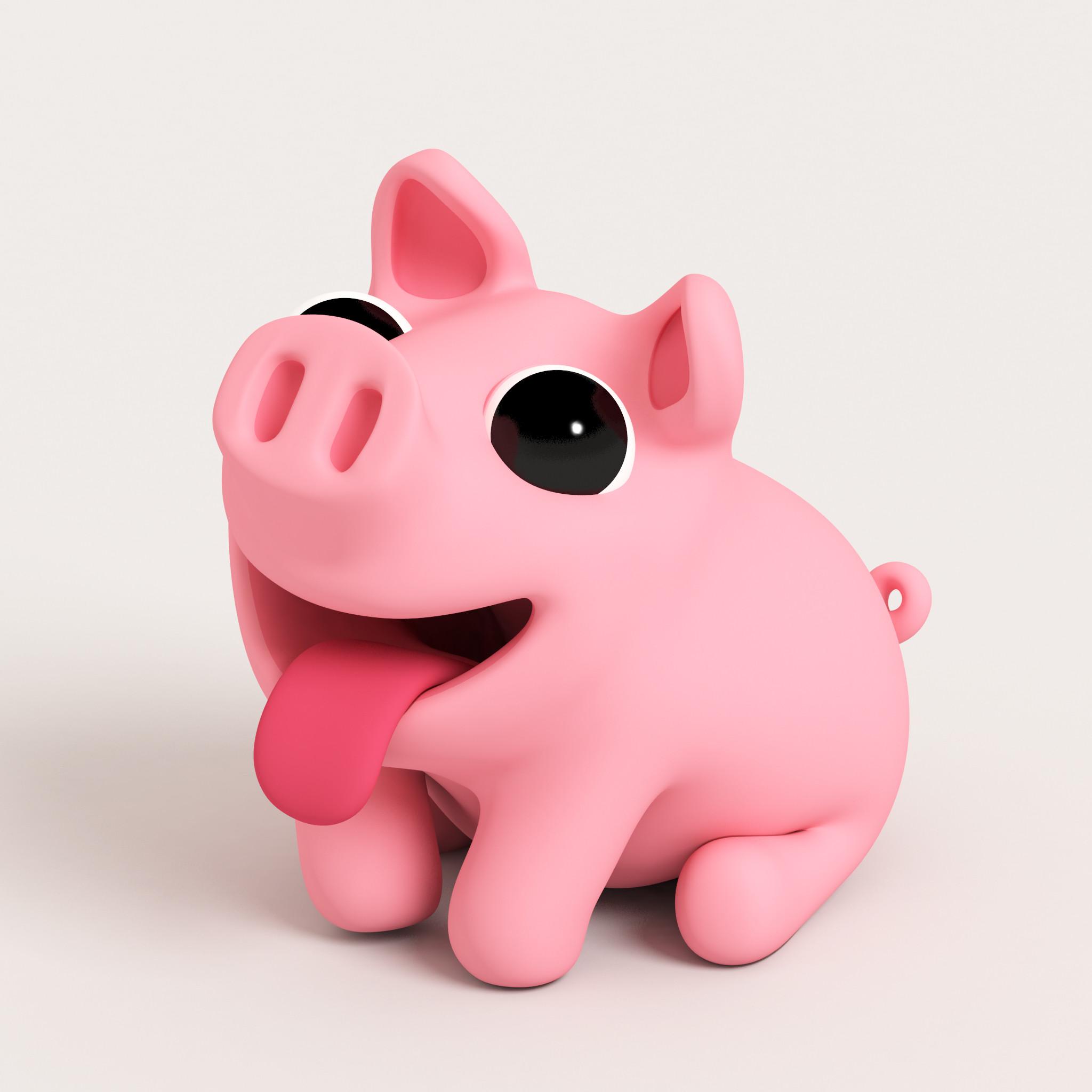 Cute Pink Wallpaper For Mobile Piggy Wallpaper 183 ①